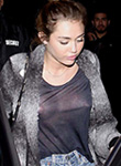 Miley Cyrus see through flashes hard nipples