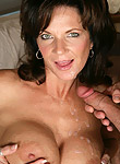 Deauxma sliding down a young stud's meatpole