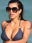 Kim Kardashian big ass in bikini edition