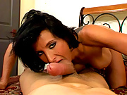 Peter North Getting Sucked And Fucked By A Hot Brunette