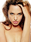 Angelina Jolie hot in see throught dress