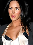 Megan Fox draw attention to her breasts