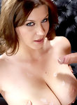 Sara Stone looks sexy and hot while riding on a huge cock