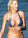 Victoria Silvstedt hard nips in a bikini