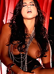 Watch a bejeweled Sunny Leone put on a steamy after hours show.