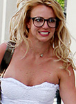 Britney Spears in lingerie looks really sexy