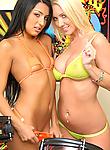 Watch 2 hot ass big tits hard ass lesbian bikini babes suck and fuck eachother hard in these hot fuck pics