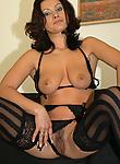 Horny slut Nathalia gets pumped by black cock